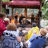 JOED VIERA/STAFF PHOTOGRAPHER-Wilson, NY-Music fans gather to listen to Flyin Blind, a blues band plays a gig  at Sunset Grill.