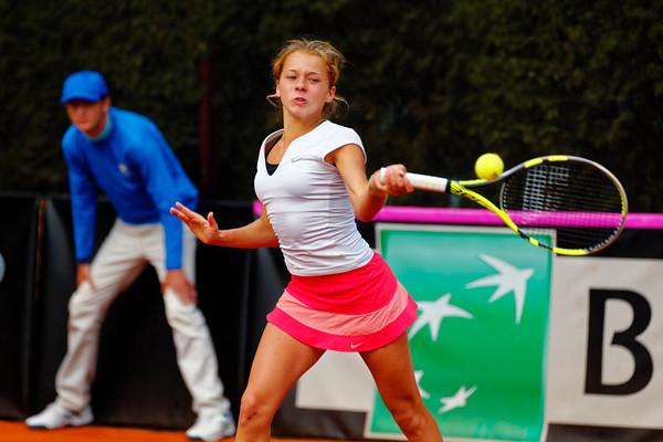 01.01d Maja Chwalinska - Team Poland - Junior Davis and Fed Cup Finals 2016