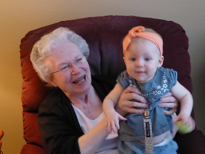 Juniper Wild meets Great Grandma (Wild) Clouse