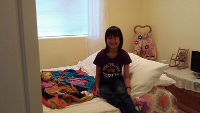 "Her room for ""camp keener"""