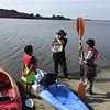 02- Chad instructing Thomas and Joseph on boating and wildlife saftey