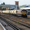 66149 1329/6Y08 Tolworth-Cliffe passes Paddock Wood.