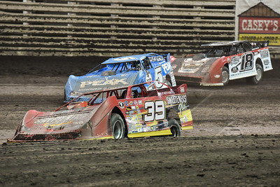 Tim McCreadie (39), Don O'Neal (5) and Shannon Babb (18)