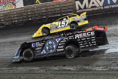 Mike Marlar (157) and Scott Bloomquist (0)