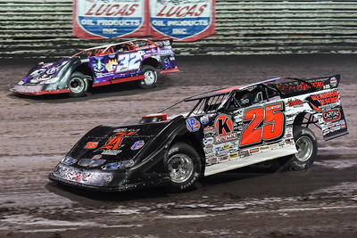 Shane Clanton (25) and Bobby Pierce (32)