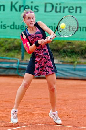 04a Viktoriya Kanapatskaya - Kreis Düren Junior Tennis Cup 2016