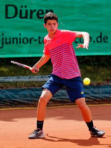 02b Natan Rodrigues - Kreis Düren Junior Tennis Cup 2016