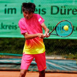 01b Xiaofei Wang - Kreis Düren Junior Tennis Cup 2016