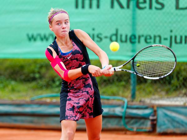 04c Viktoriya Kanapatskaya - Kreis Düren Junior Tennis Cup 2016