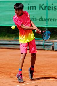 01a Xiaofei Wang - Kreis Düren Junior Tennis Cup 2016