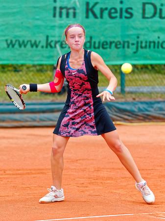 04b Viktoriya Kanapatskaya - Kreis Düren Junior Tennis Cup 2016