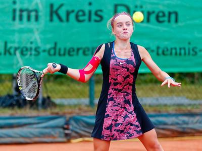 04 Viktoriya Kanapatskaya - Kreis Düren Junior Tennis Cup 2016