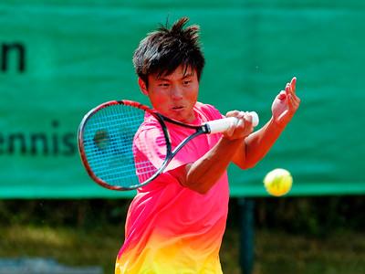 01 Xiaofei Wang - Kreis Düren Junior Tennis Cup 2016