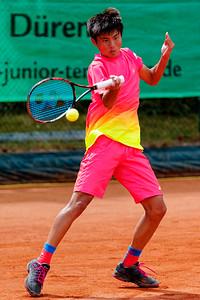 01c Xiaofei Wang - Kreis Düren Junior Tennis Cup 2016