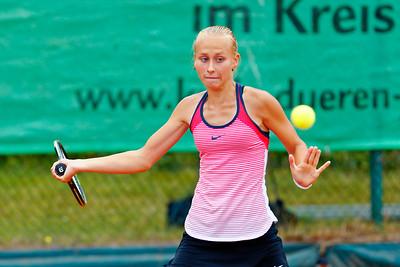 03 Darya Astakhova - Kreis Düren Junior Tennis Cup 2016