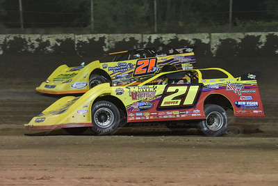 Billy Moyer (21) and Billy Moyer, Jr. (21JR)
