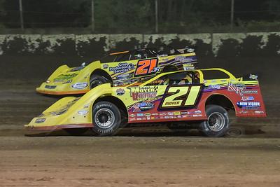 Billy Moyer (21) and Billy Moyer, Jr. (21JR)