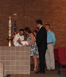 Landon Baptism