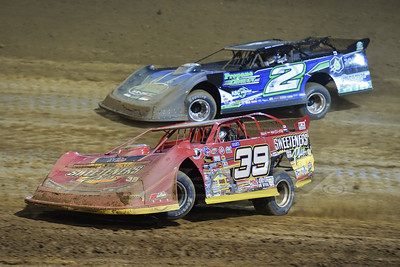 Tim McCreadie (39) and Nick Hoffman (2)