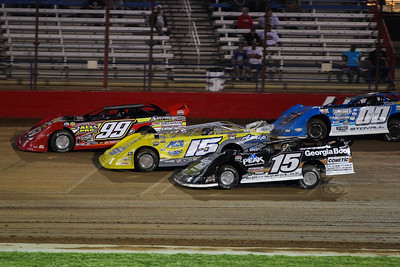 Scott Lewis (99), Payton Looney (15), Darrell Lanigan (15) and Jesse Stovall (00)