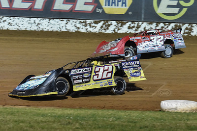 Chris Simpson (32) and Bobby Pierce (32)