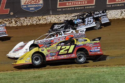 Billy Moyer (21), Tony Jackson, Jr. (56) and Darrell Lanigan (15)