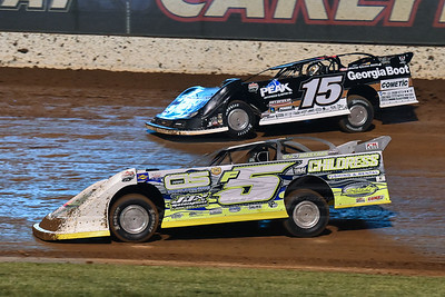 Garrett Alberson (F5) and Darrell Lanigan (15)