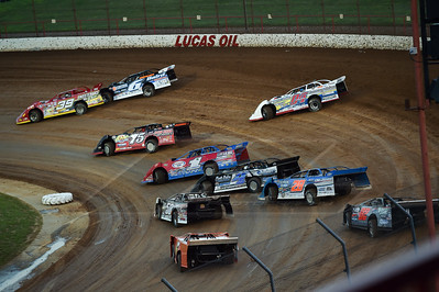 Tim McCreadie (39), Jonathan Davenport (6), Terry Phillips (75), Tad Pospisil (04), Earl Pearson, Jr. (1), Josh Poe (4), Dave Eckrich (58), Dennis Erb, Jr. (28) and Tommy Weder (02)