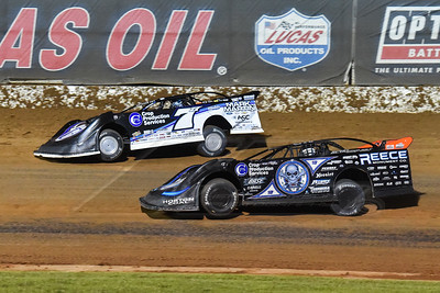 Jared Landers (777) and Scott Bloomquist (0)