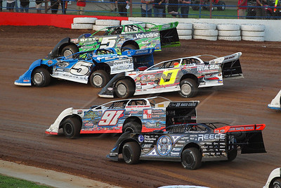Scott Bloomquist (0), Jason Papich (91P), Jake O'Neil (0), Don O'Neal (5) and Brandon Sheppard (B5)