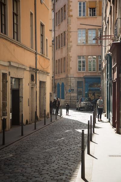 Lyon street scene