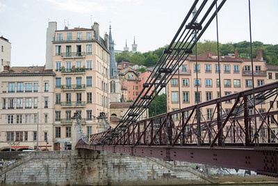 Bridge across the Saône