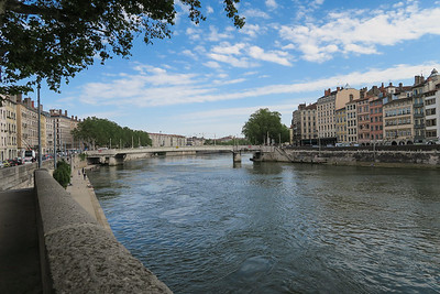 View from the banks of the River Saône