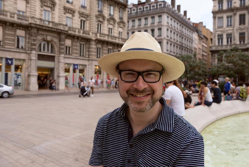 Me at Place des Jacobins