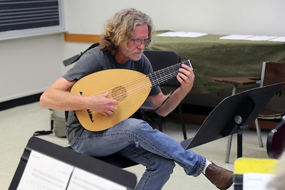 """Lutes, Bandora, Cittern Ensemble,"" taught by MEMF faculty Grant Herreid (pictured)"