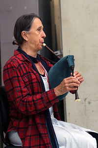 """Wake-Up Bagpipes, Redux!,"" taught by MEMF faculty Joan Kimball (pictured)"