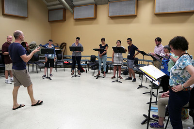 """Balanced, Not Blended: Ensemble Singing,"" taught by MEMF faculty Craig Phillips"