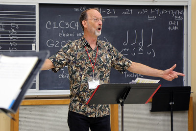 """Advanced Loud Band: Rep and Technique,"" taught by MEMF faculty Robert Wiemken (pictured)"