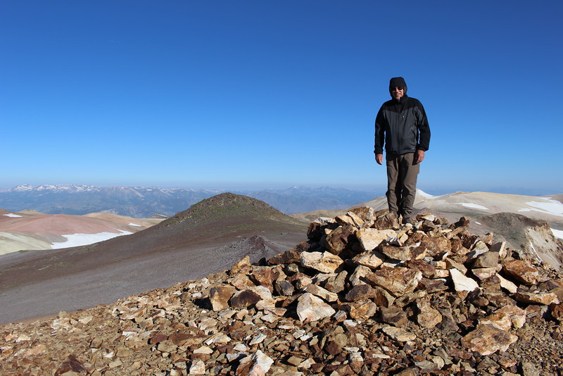 MOUNT PATTERSON / WHEELER PEAK /SOUTH SISTER: JULY 3, 2016