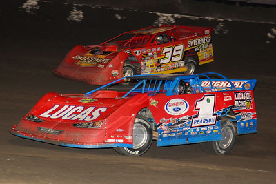 Earl Pearson, Jr. (1) and Tim McCreadie (39)