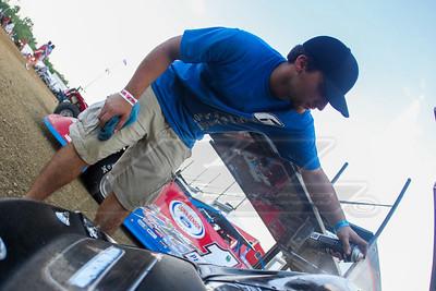 Jonathan Davenport crew member Robby Hedrick