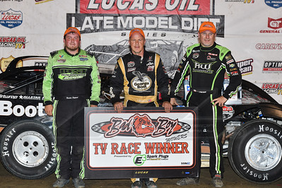 Brandon Sheppard (L), Darrell Lanigan (C) and Jimmy Owens (R)