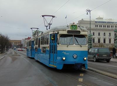 Trams & Metros in Sweden