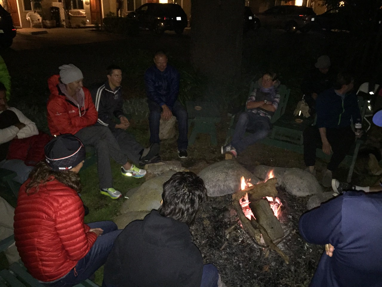Stories around the camp fire