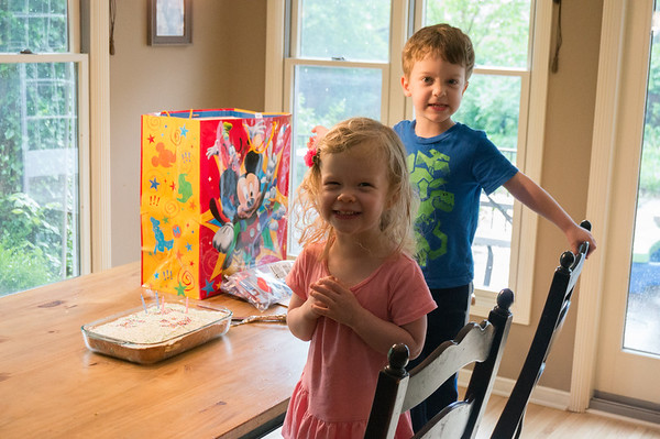 Marshall's 4th birthday