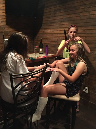 May 15: Preparing For Hailey's Formal