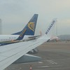 Flying from London Luton to Dublin on a Ryanair Boeing 737-800.