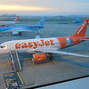 EasyJet Airbus A319 G-EZBY 'Romeo Alpha Juliet' at London Luton Airport.