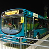 Arriva A to Z branded Volvo Wright Eclipse KX12GZZ 3961 at Luton Airport on the A to Dunstable.