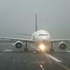 An Air Transat Airbus A310 at Dublin Airport.